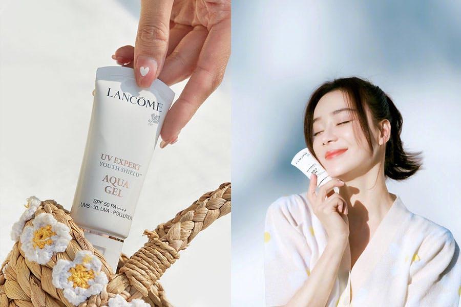 《素顏霜》推薦|LANCOME蘭蔻 超輕盈UV提亮素顏霜 SPF50/PA++++|美周報