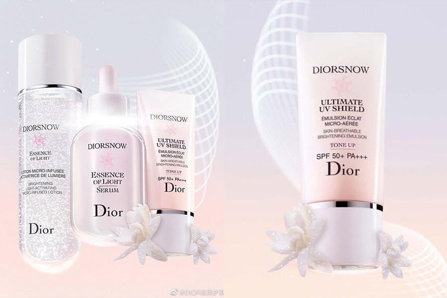 《素顏霜》推薦|DIOR迪奧 迪奧雪晶靈潤色隔離亮妍霜 SPF50 PA+++|美周報