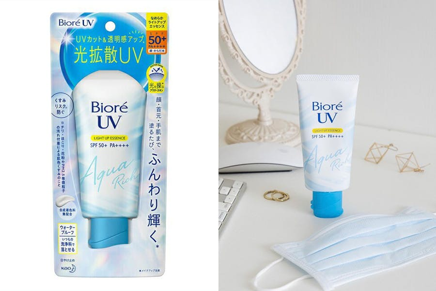 2021開架防曬新品推薦|Biore蜜妮 Biore含水防曬幻光水凝乳|美周報