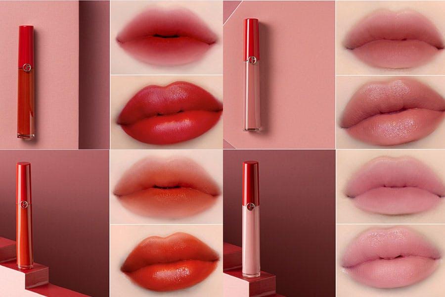 《2021新款唇膏》推薦|GIORGIO ARMANI 奢華絲絨訂製唇萃-限量亞曼尼傳奇女伶系列(4 色)|美周報