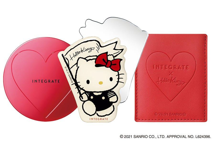 INTEGRATE櫻特芮 透潤柔光粉底凍Hello Kitty 限定版 美周報
