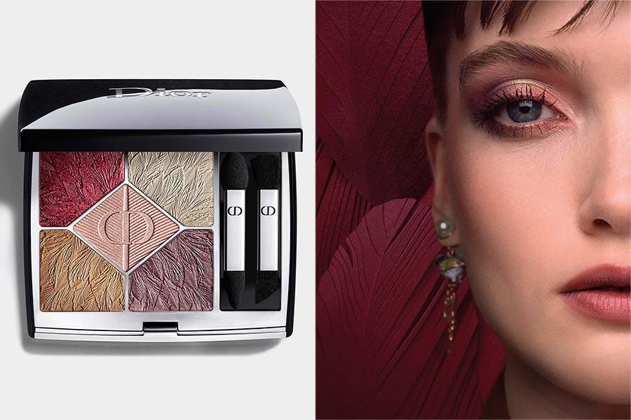 Dior迪奧 經典五色眼影-羽毛派對限量版