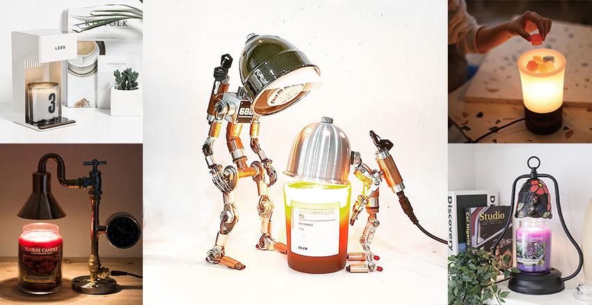 點蠟燭又怕走火!快試試韓國最夯「融燭燈」,融出香氣更有氛圍