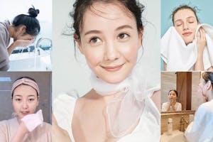 女星陶瓷肌養成,先用正確方法洗臉才對!潔顏迷思、誤區大公開~|洗臉知識文