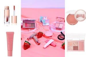草莓季來臨!草莓甜點女孩最Sweet「草莓奶霜妝」用《開架彩妝》打造讓人融化的甜蜜妝容|彩妝推薦