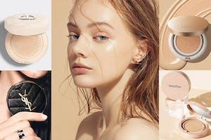 2021氣墊粉餅回歸底妝寶座!5款保養成分X高遮瑕兼具養膚功效,拍拍即有光澤妝感|氣墊粉餅推薦