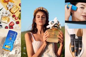 《美妝新品報》5月新品點點名~MJ經典小雛菊香水細膩升級、蘿拉蜜思#懶人霜挑戰5分鐘完妝、SHISEIDO防曬果凍棒成新霸主|新品快報