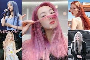 宋茜2021夏日限定漸層粉紫髮色超吸睛,韓女團那些令人印象深刻的夢幻髮色|髮色推薦