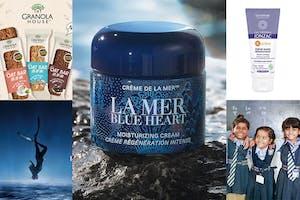 LA MER2021世界海洋日攜手EarthEcho守護海洋、克蘭詩供餐計畫希望種子、唯有機捐贈護手霜給醫護人員,美妝公益活動不落人後~溫暖人心!