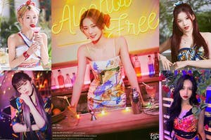 TWICE新歌〈Alcohol-Free〉夏季繽紛回歸!彩瑛《漸層粉紅髮色》超吸睛,2021髮色趨勢跟著韓團走! 髮色推薦