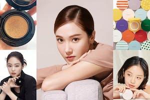 Jessica分享愛用底妝《開架氣墊粉餅》!久違的氣墊粉餅推薦這5款平價版~|氣墊粉餅推薦